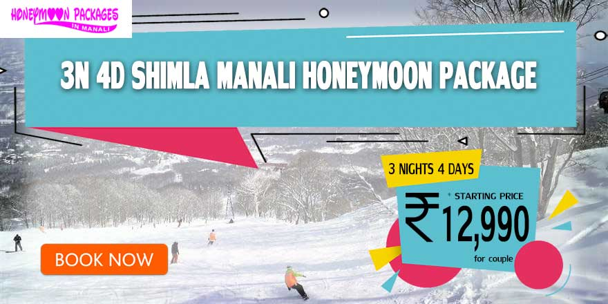3 Nights 4 Days Honeymoon Packages in Manali