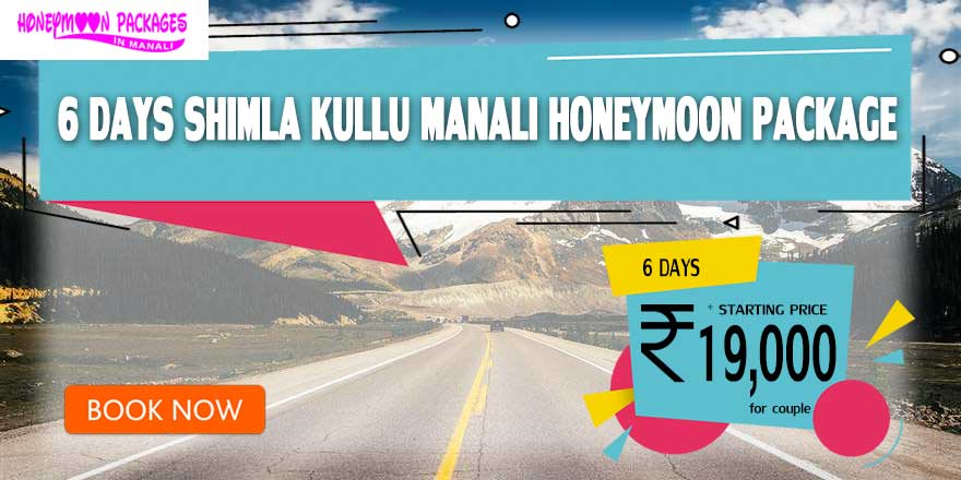 6 Days Honeymoon Packages in Manali