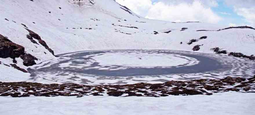 Bhrigu Lake in Manali
