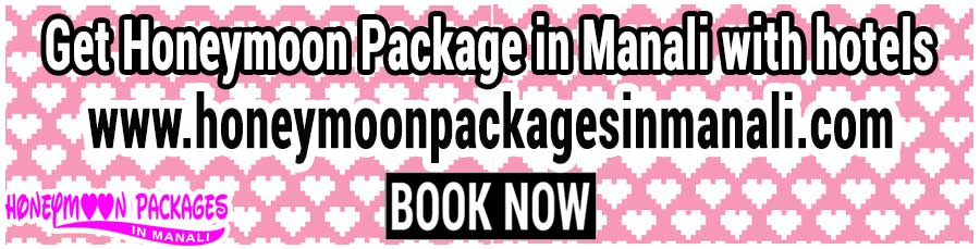Honeymoon Package in Manali with hotels