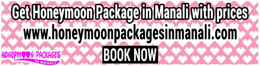 Honeymoon Package in Manali with prices for couple