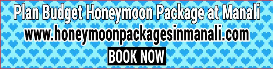 Book Honeymoon Package at Manali