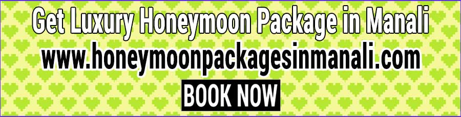 Book Honeymoon Package in Manali