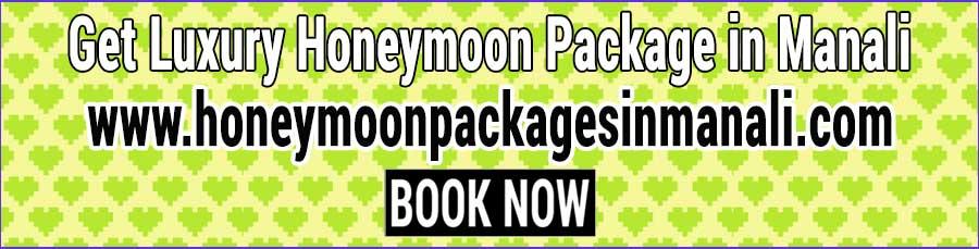 Book Honeymoon Package in Manali