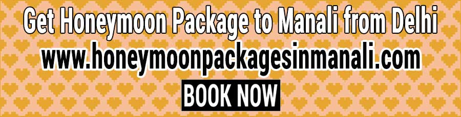 Book Honeymoon Package to Manali from Delhi