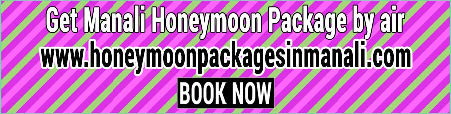 Book Manali Honeymoon Package by air