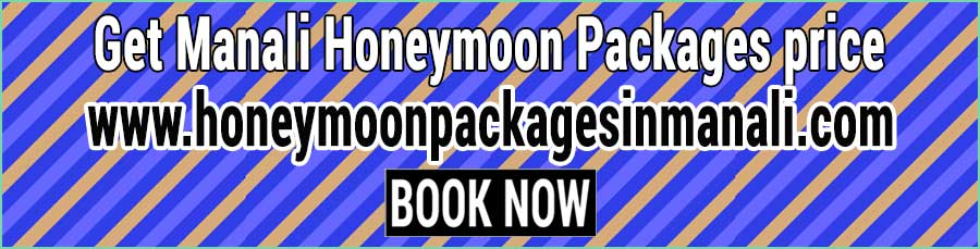 Manali Honeymoon Packages price for couple