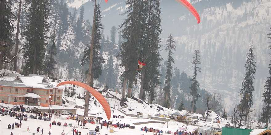Manali tour package from Kasaragod