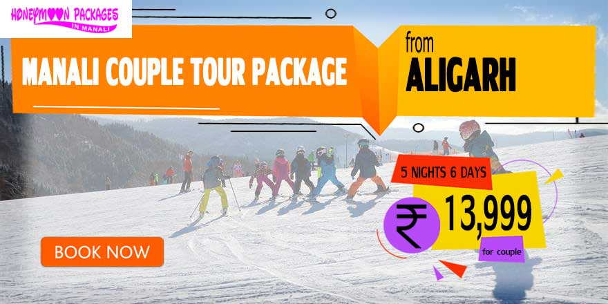 Manali couple tour package from Aligarh
