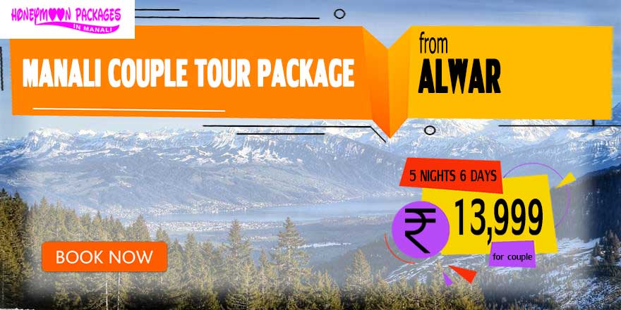 Manali couple tour package from Alwar