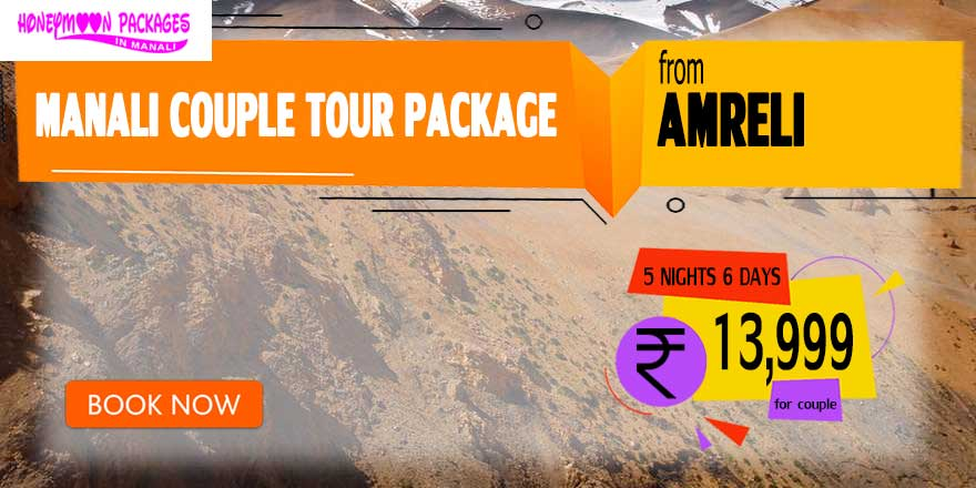 Manali couple tour package from Amreli