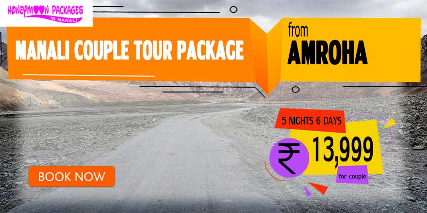 Manali couple tour package from Amroha