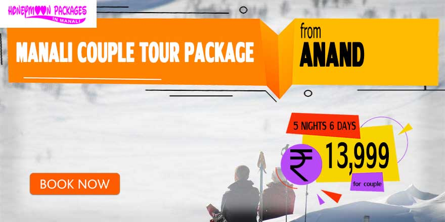 Manali couple tour package from Anand