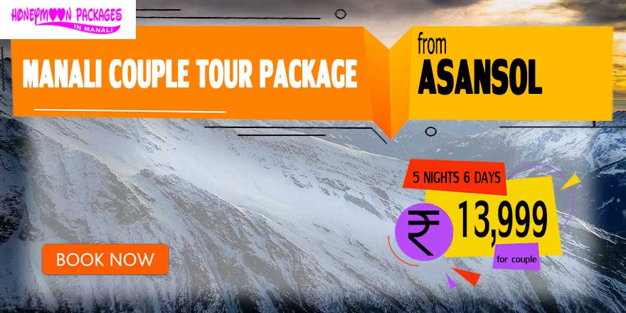 Manali couple tour package from Asansol