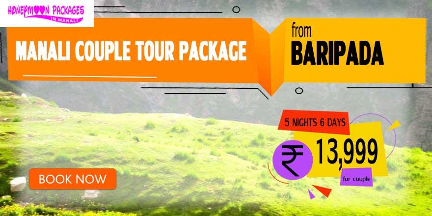 Manali couple tour package from Baripada