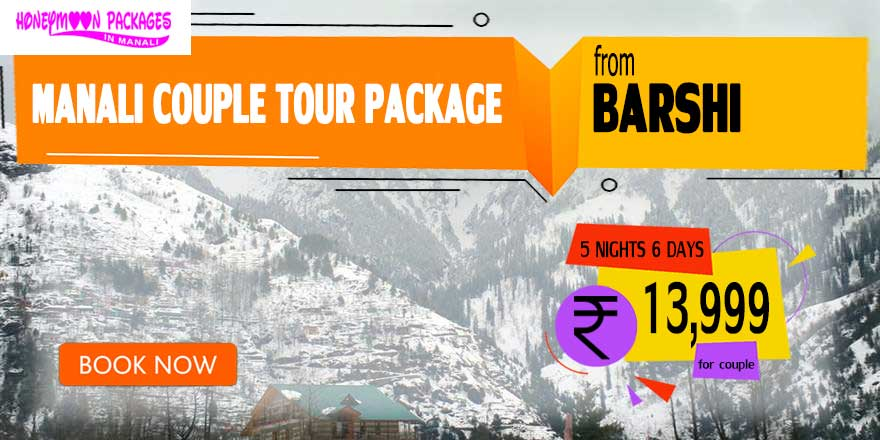 Manali couple tour package from Barshi
