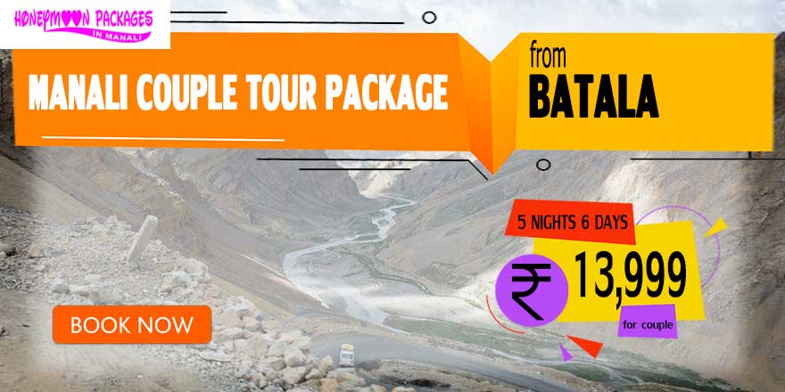 Manali couple tour package from Batala