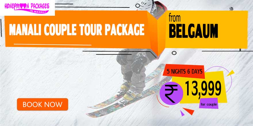 Manali couple tour package from Belgaum