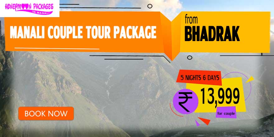 Manali couple tour package from Bhadrak