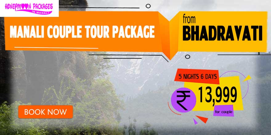 Manali couple tour package from Bhadravati