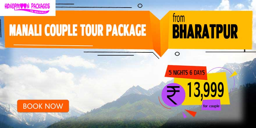 Manali couple tour package from Bharatpur