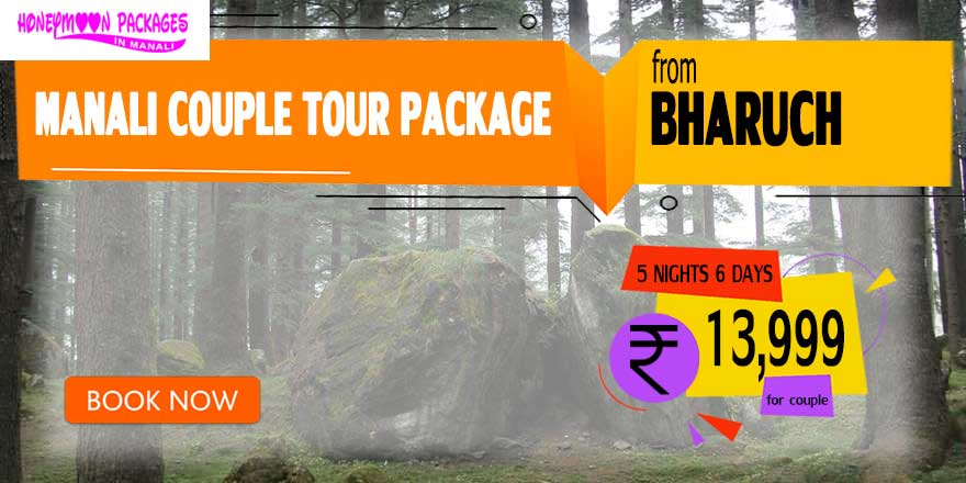 Manali couple tour package from Bharuch