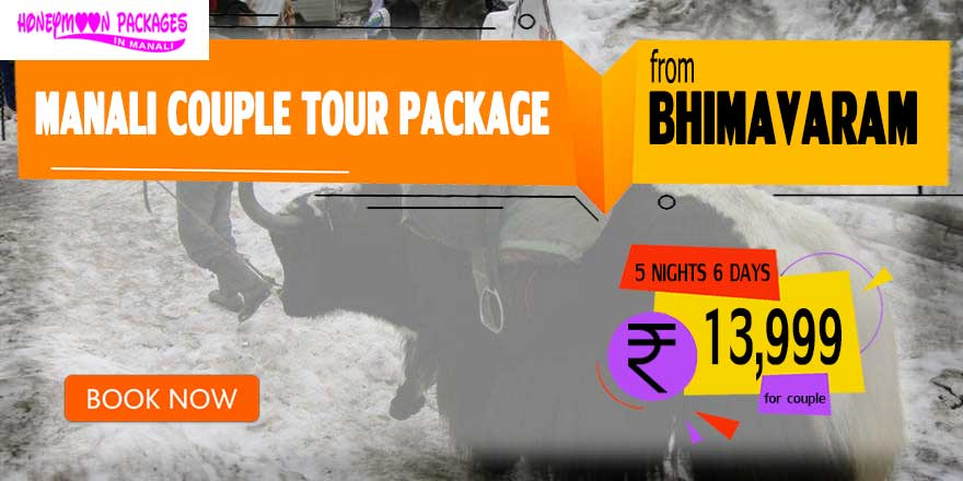 Manali couple tour package from Bhimavaram