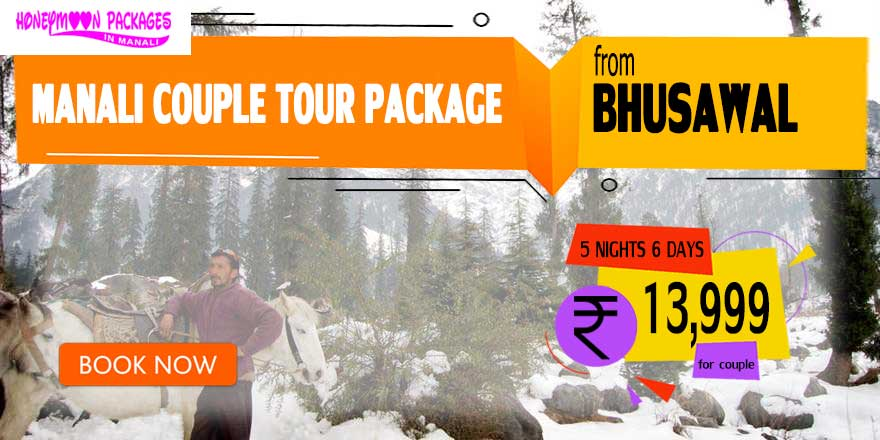 Manali couple tour package from Bhusawal