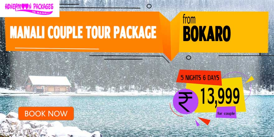 Manali couple tour package from Bokaro Steel City