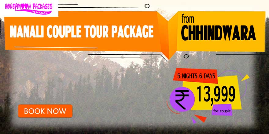 Manali couple tour package from Chhindwara