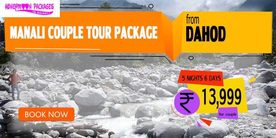 Manali couple tour package from Dahod