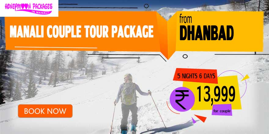 Manali couple tour package from Dhanbad