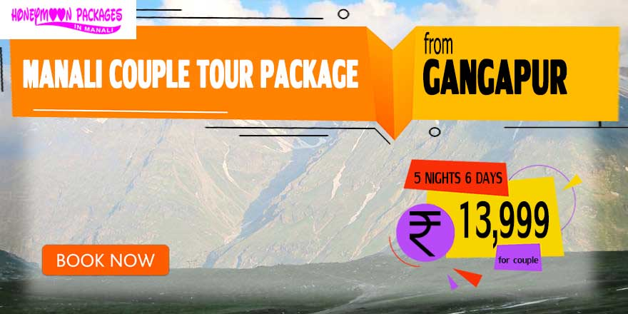Manali couple tour package from Gangapur
