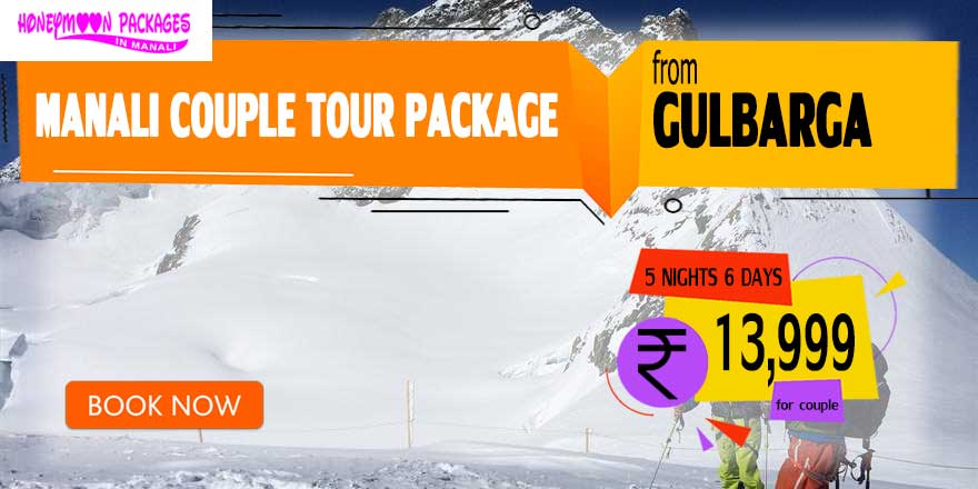 Manali couple tour package from Gulbarga