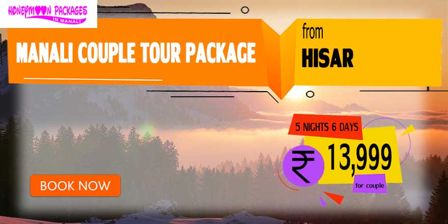 Manali couple tour package from Hisar