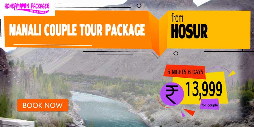 Manali couple tour package from Hosur