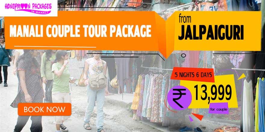 Manali couple tour package from Jalpaiguri