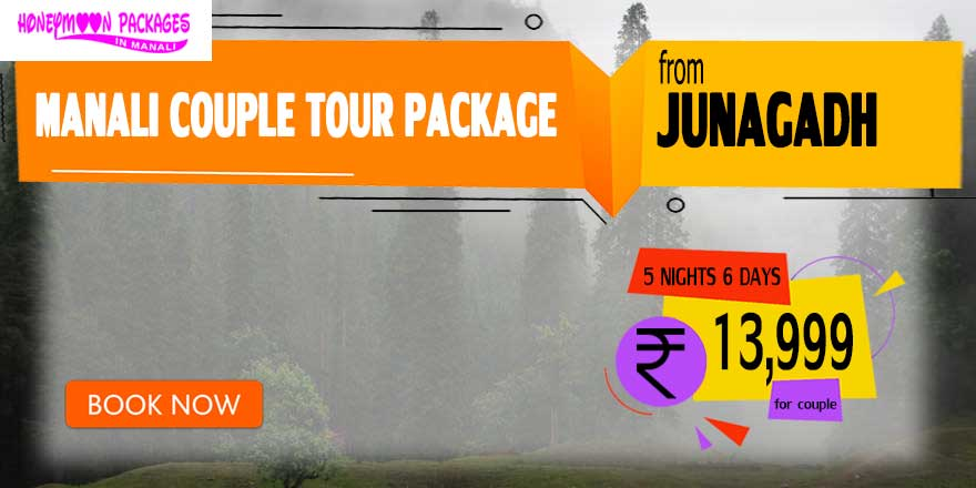 Manali couple tour package from Junagadh