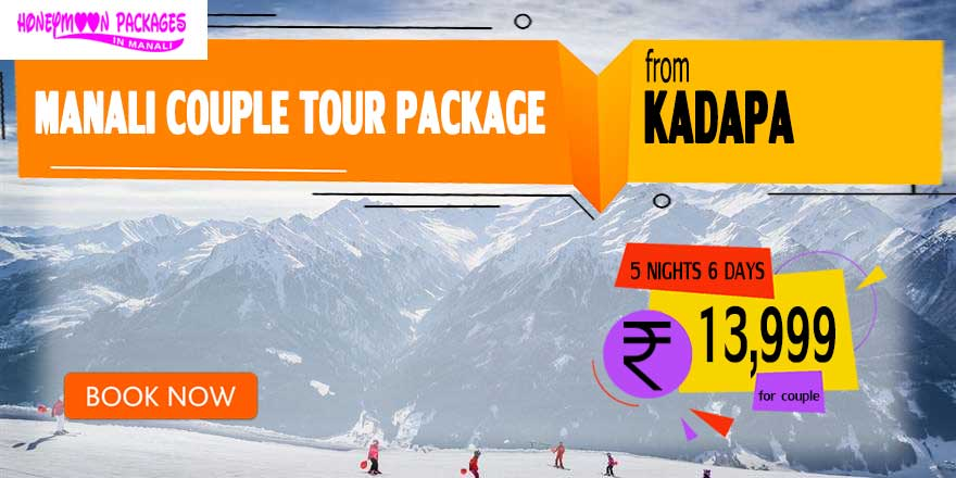 Manali couple tour package from Kadapa