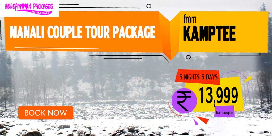 Manali couple tour package from Kamptee