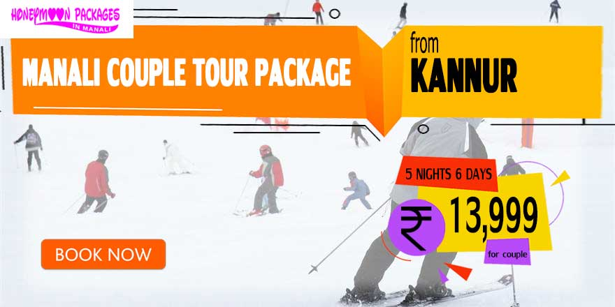 Manali couple tour package from Kannur