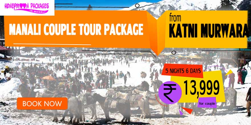Manali couple tour package from Katni Murwara