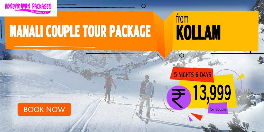 Manali couple tour package from Kollam