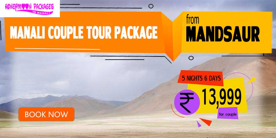Manali couple tour package from Mandsaur