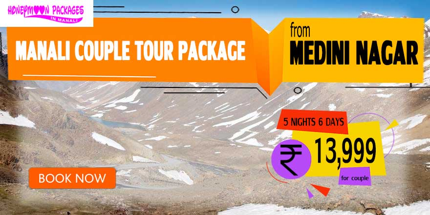 Manali couple tour package from Medini Nagar