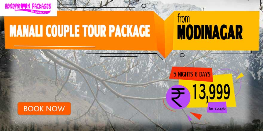 Manali couple tour package from Modinagar