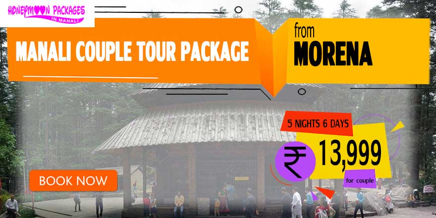 Manali couple tour package from Morena