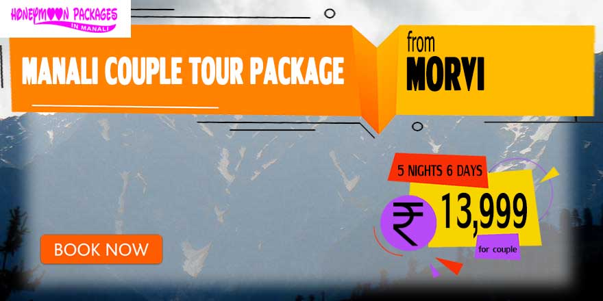 Manali couple tour package from Morvi