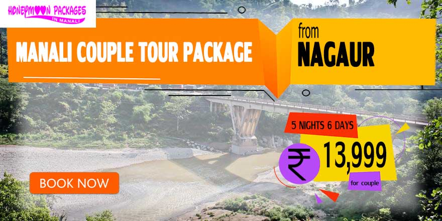 Manali couple tour package from Nagaur