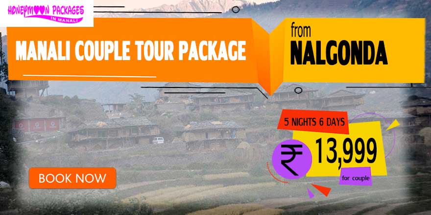 Manali couple tour package from Nalgonda